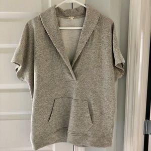 EUC shawl collar sweatshirt tunic